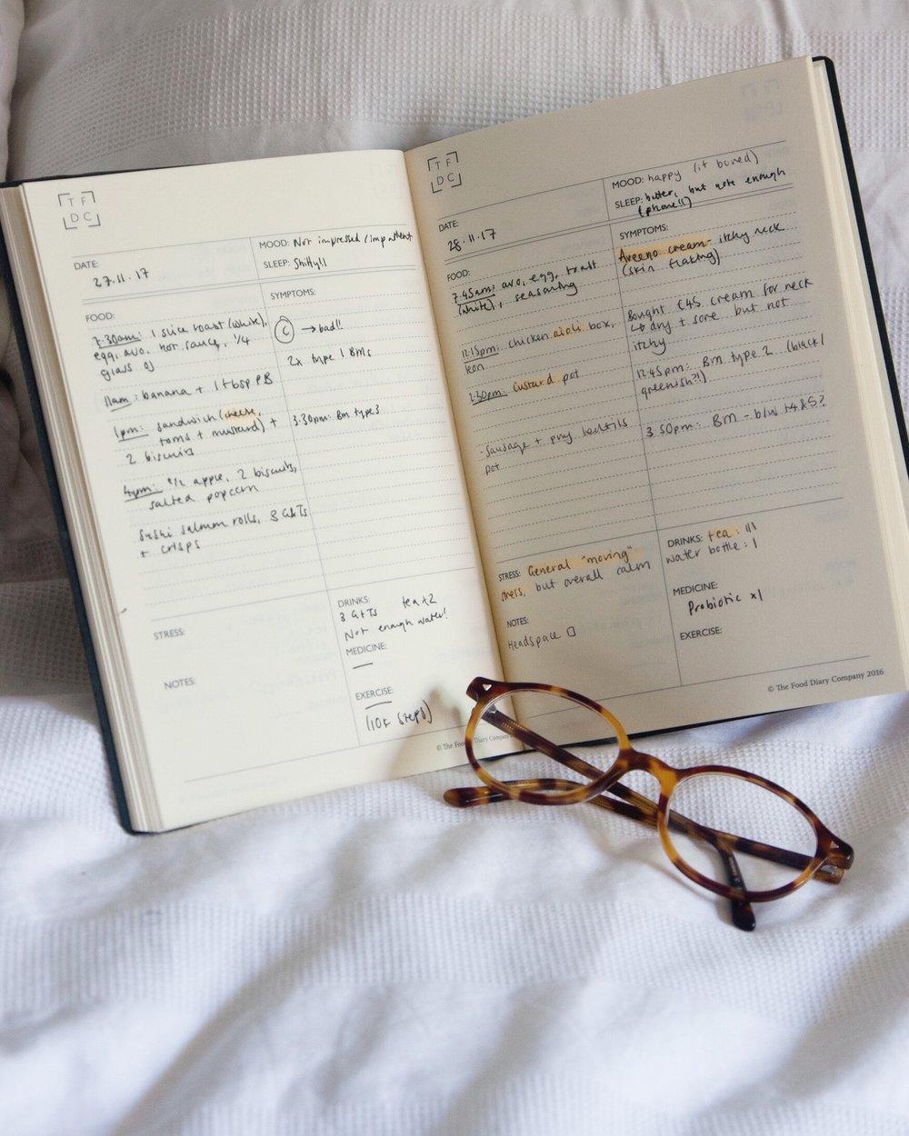 the food diary co 8 ways i used my food diary to heal my ibs