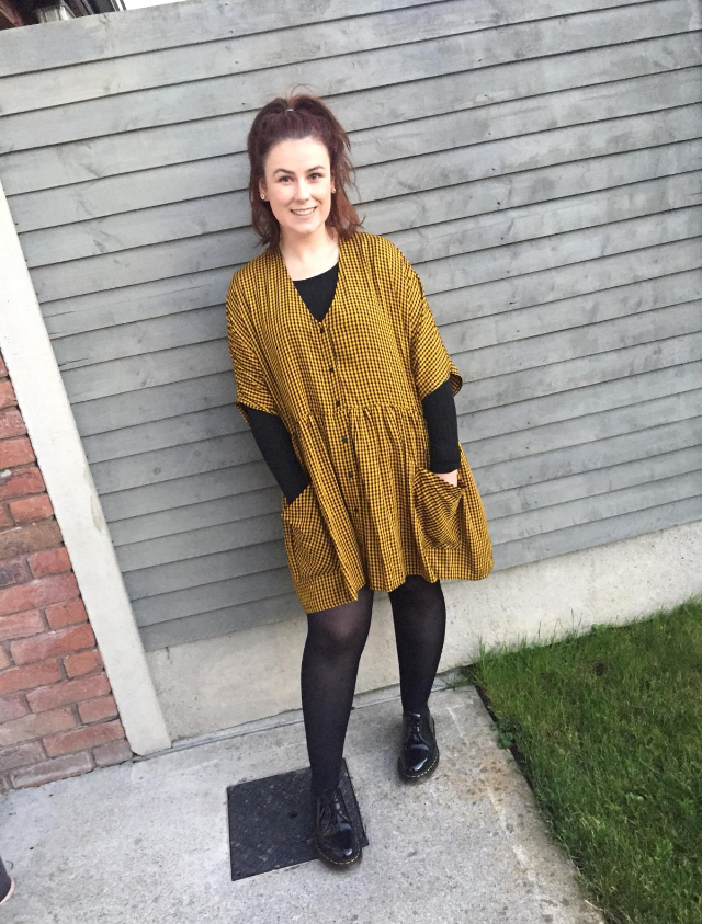 Danielle at home_who lives with endometriosis and PCOS.jpg