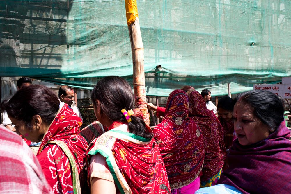 Kathmandu, Nepal. Holi Celebrations.