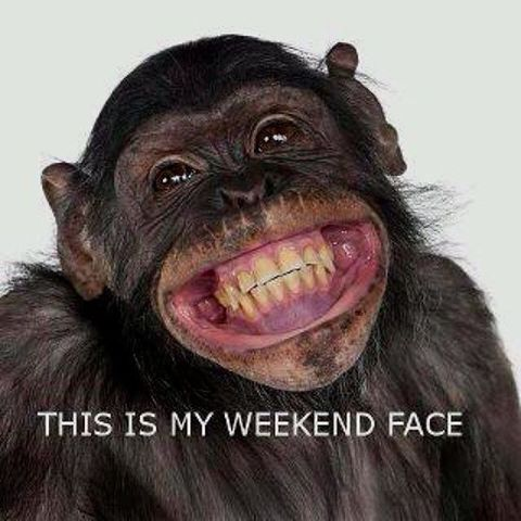 It's Friday.. Let loose and get your weekend face on! #FriYay #Friday #Tgif #weekend #smile