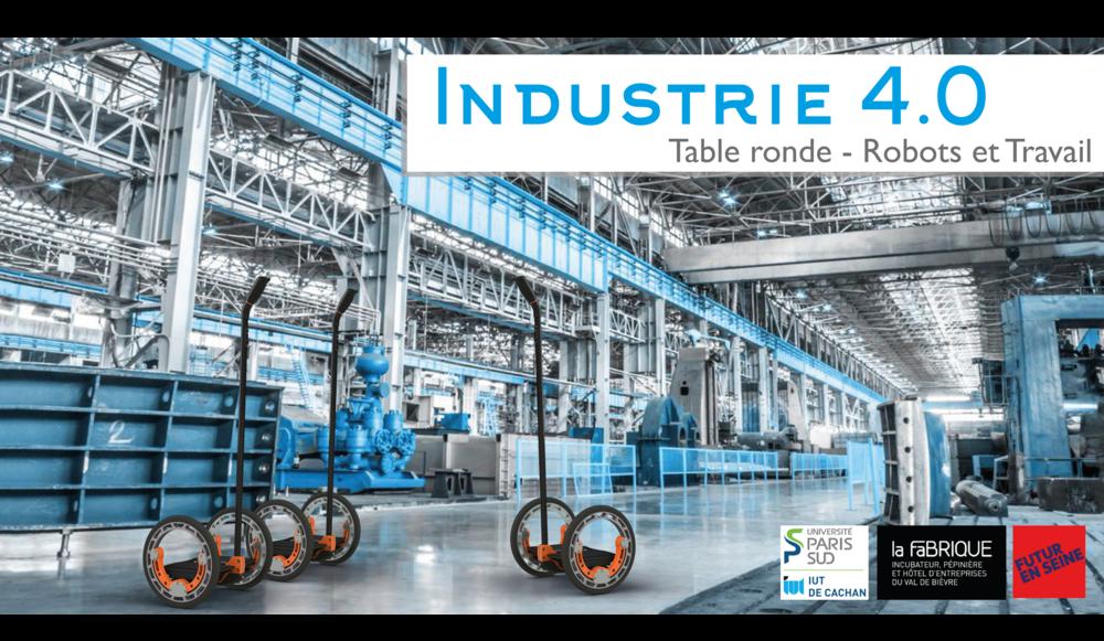 Table ronde : Robots et Travail le lundi 12 juin à 18h à