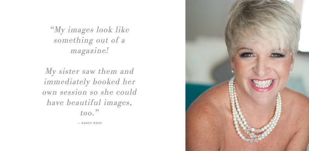 Testimonial for Elizabeth Ashford Photography: My images look like something out of a magazine