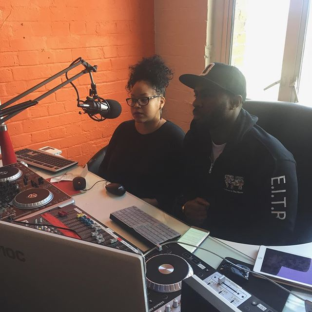 @iamnicoladady and @isaaksworld hosting Elephant In The Room radio show #discussion #radio #network #growth #londonislovinit