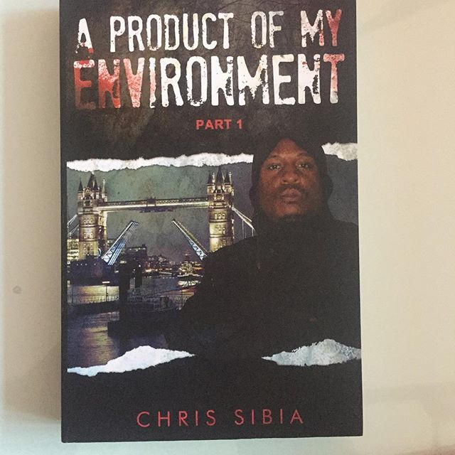 'A Product Of My Environment' written and published by Chris Sibia. Well worth a read and you can get directly from him @ www.chrissibia.london and www.elephantintheroom.network #radio #book #network