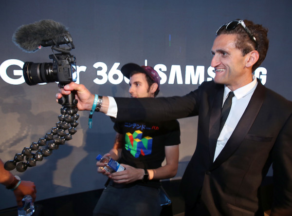 Casey Neistat in action