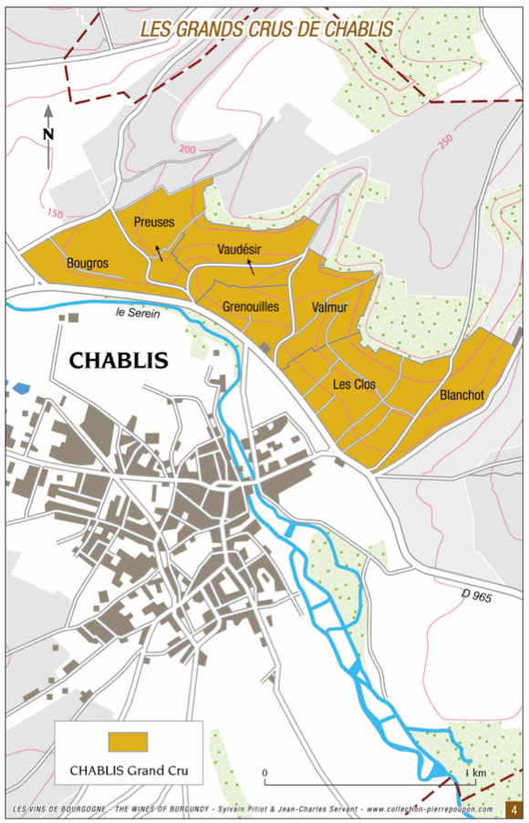Guy Robin Chablis map