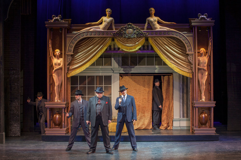 2017 Bullets Over Broadway at the Ogunquit Playhouse - Photo by Jay Goldsmith