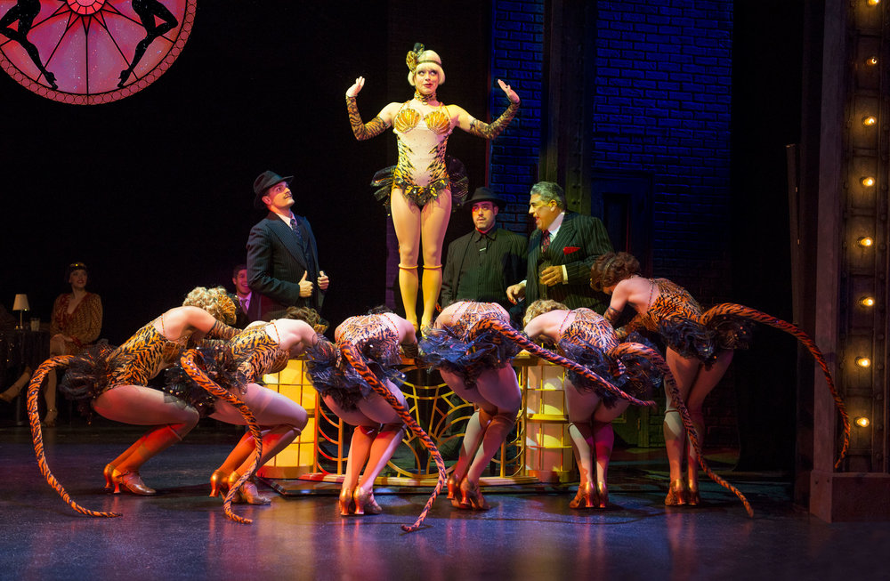 2017 Bullets Over Broadway at the Ogunquit Playhouse - Photo by Gary Ng