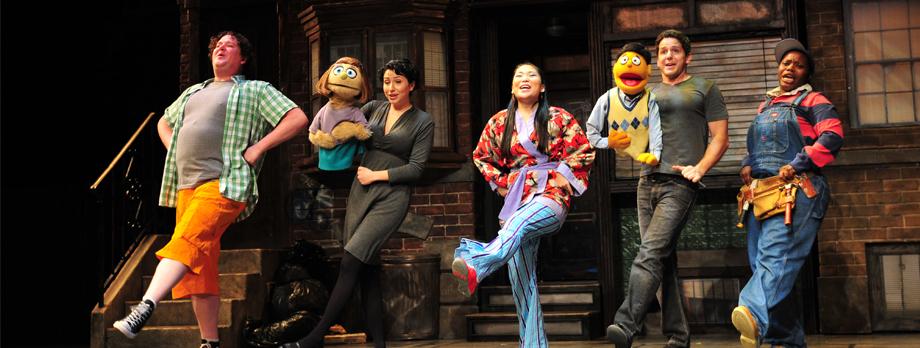 2011 Avenue Q Synopsis Ogunquit Playhouse