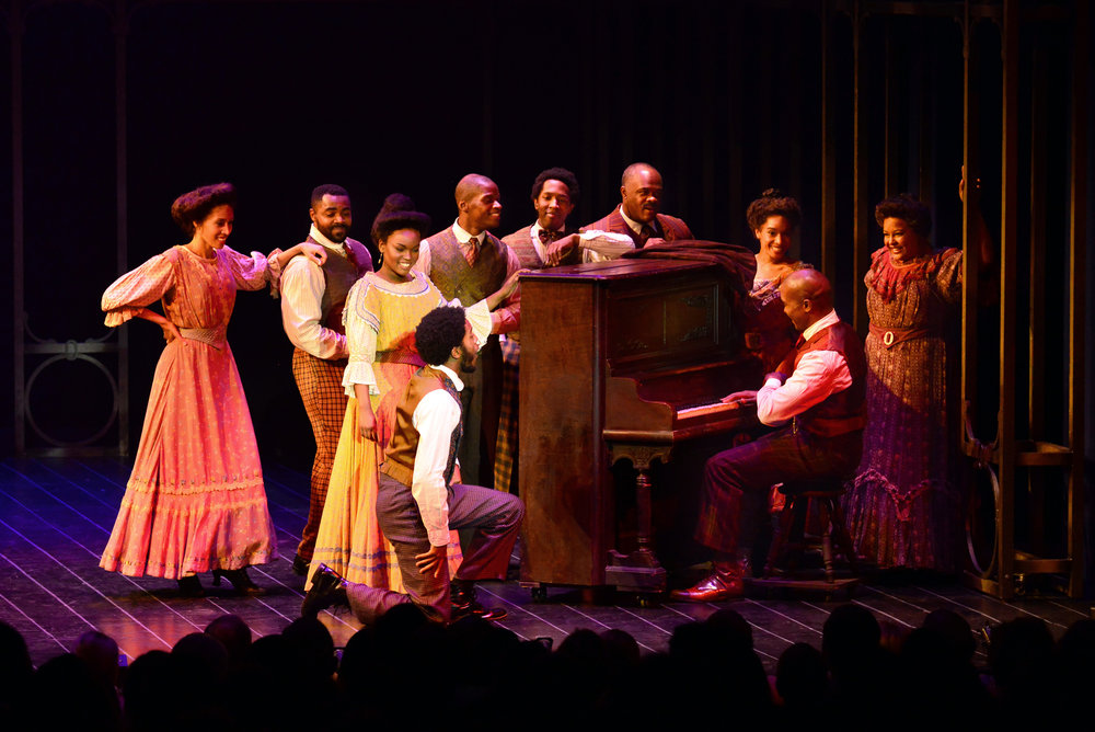Ragtime at the Ogunquit Playhouse, 2017 - photo by Gary Ng