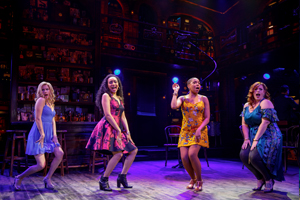 Emma Degerstedt, Nicole Vanessa Ortiz, Dionne D. Figgins, and Alysha Umphress  Photo by Joan Marcus  Smokey Joe's Cafe 0047.jpg