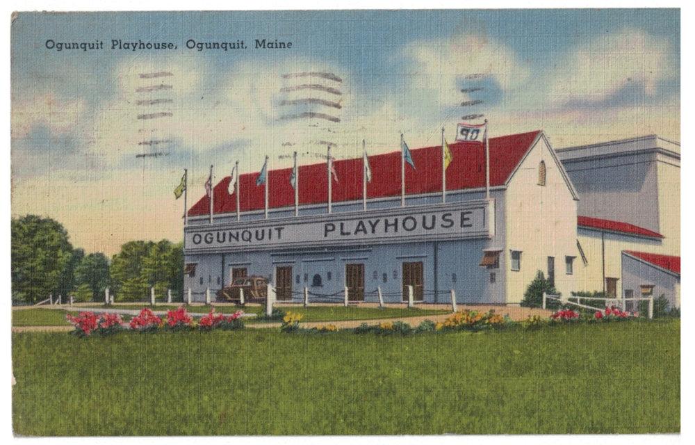 Postcard, 1946