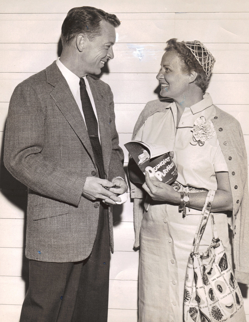 John Lane and Shirley Booth, 1953