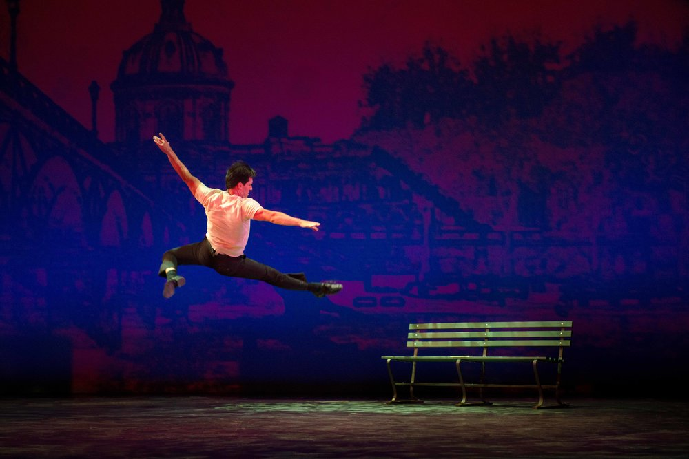 Clyde Alves in the 2018 production of An American in Paris. Photo by Gary Ng.