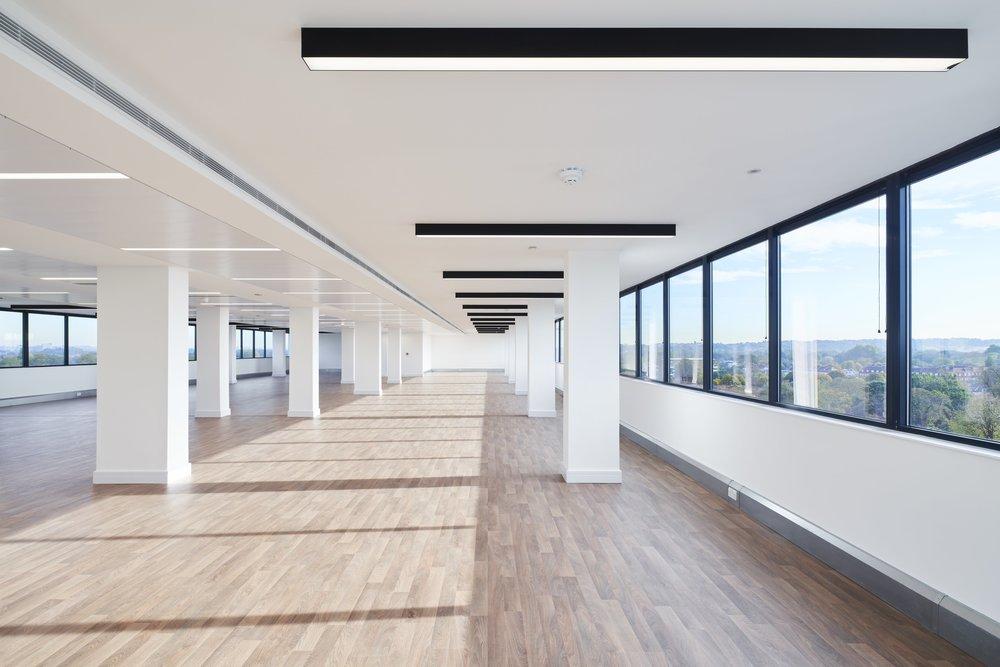 Newly refurbished 8th floor