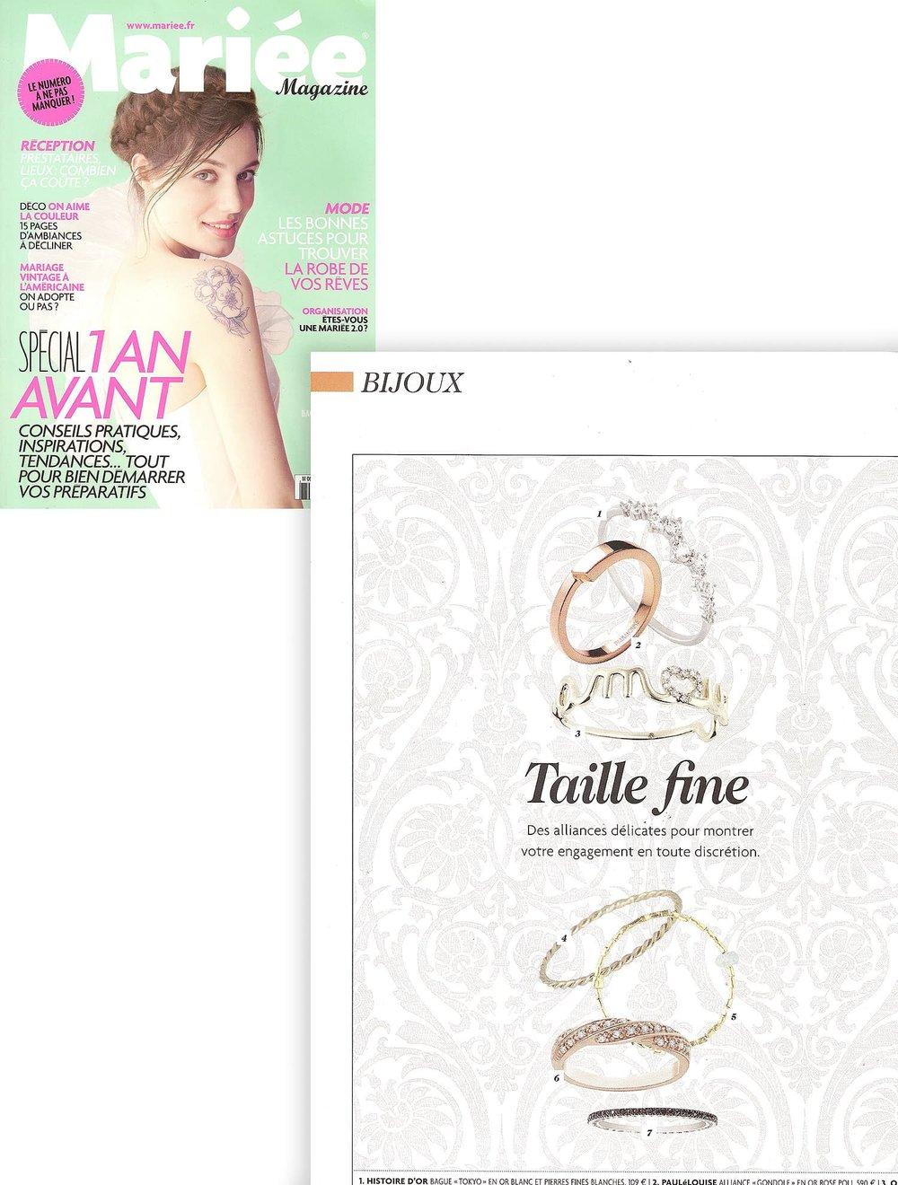 mariée magazine - juin - juillet - aout - 2013