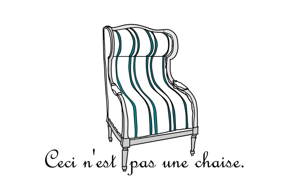Inspiré de l'oeuvre de l'artiste québécois Yannick Pouliot, Louis XVI : Impassible , 2015.