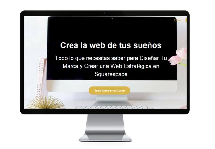 Crea la web de tu sueños Squarespace en español