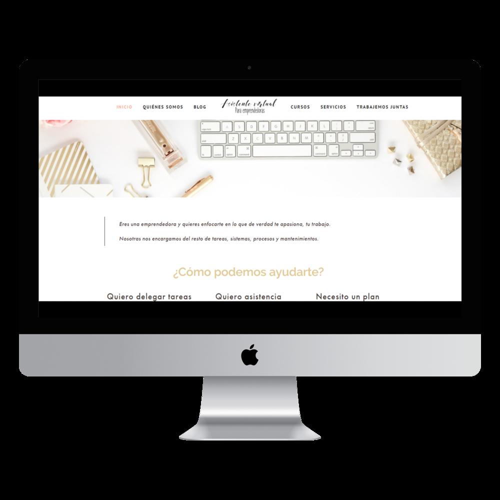 Asistente Virtual para Emprendedoras