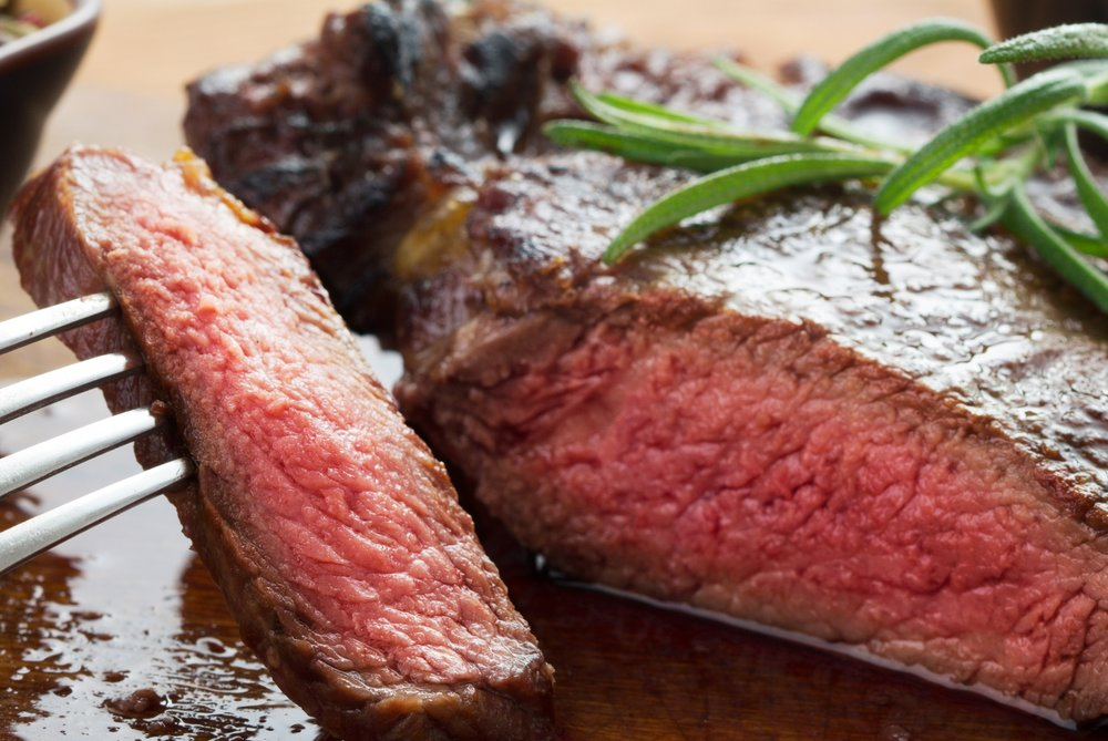 Grass Fed Ribeye Steak Roast