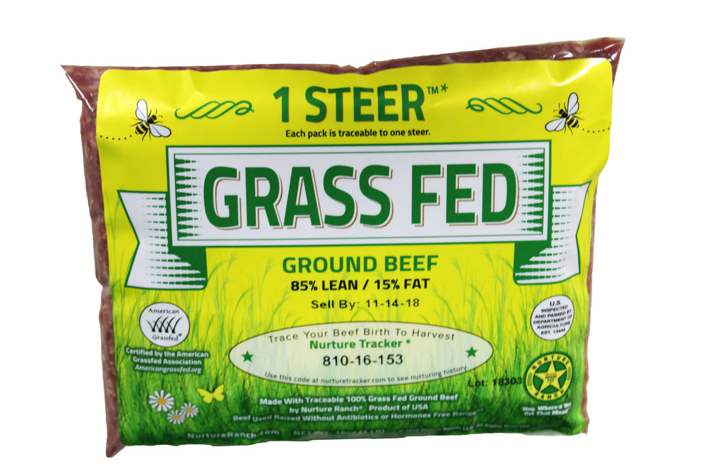 Nurture Ranch Grass Fed Ground Beef