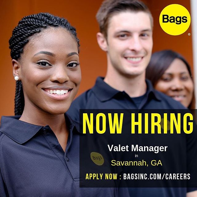 We've got Georgia on the mind! NOW HIRING a valet manager in Savannah, GA 🍑 Link to apply in the bio 👆🏻