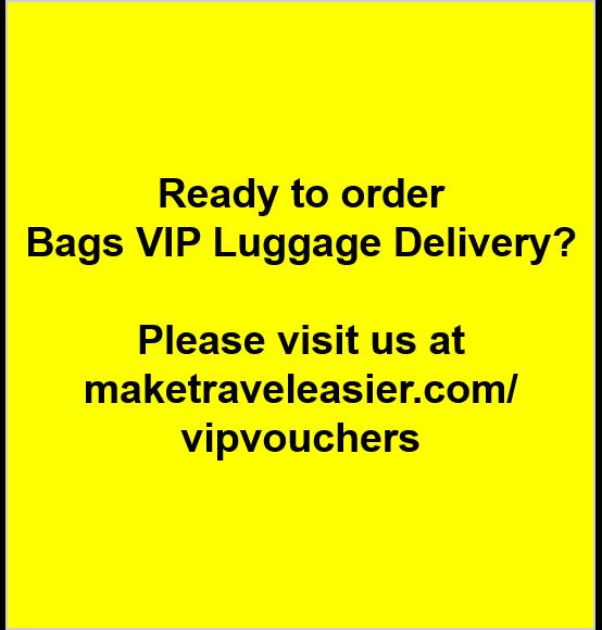 Visit Maketraveleasier Com Vipvouchers To Place Your Bags Vip