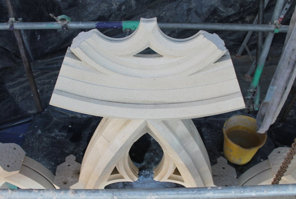 Architectural stone repairs