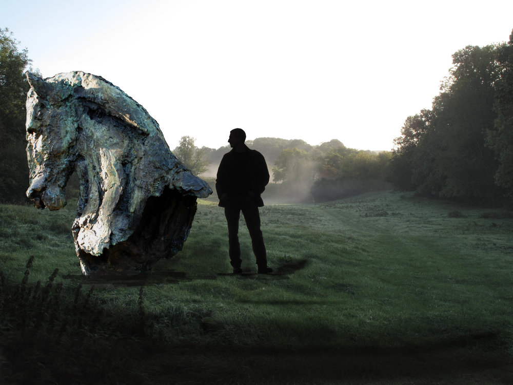 playing with scale: reimagining bronze in the landscape