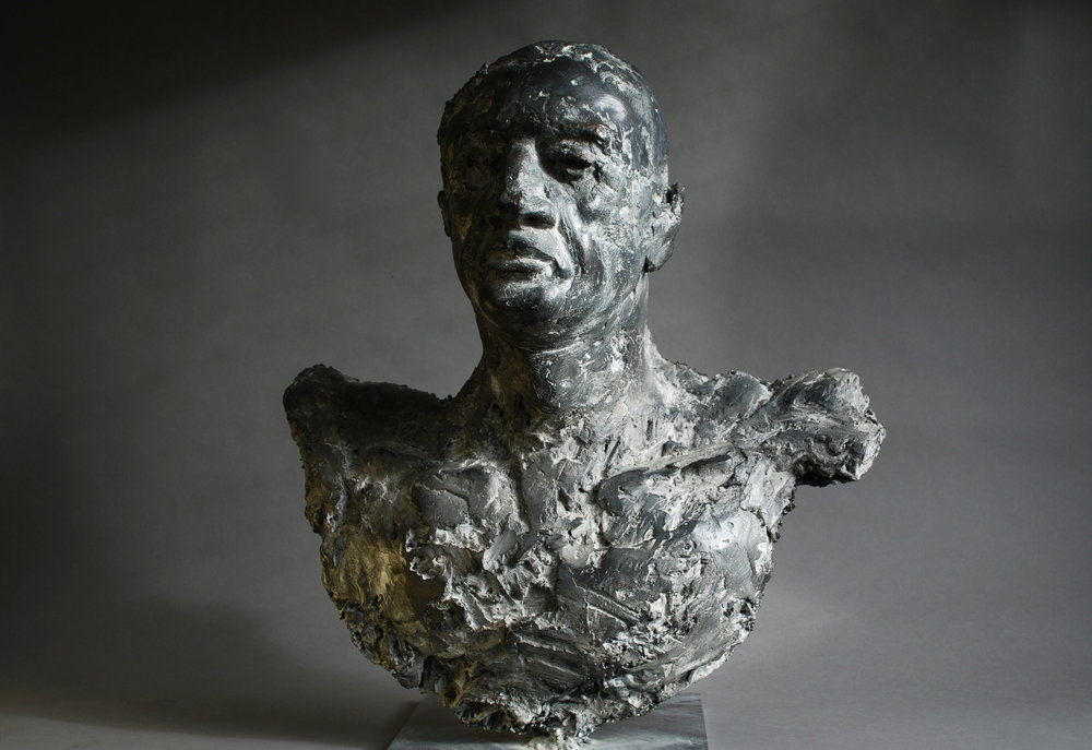 Archangel , bronze, life-size, edition of 9