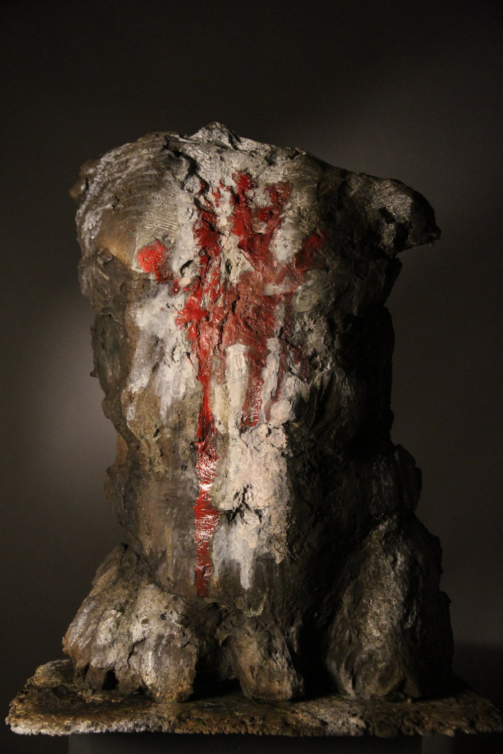 Mud, Ash, Ochre II , bronze,life-size, edition of 9
