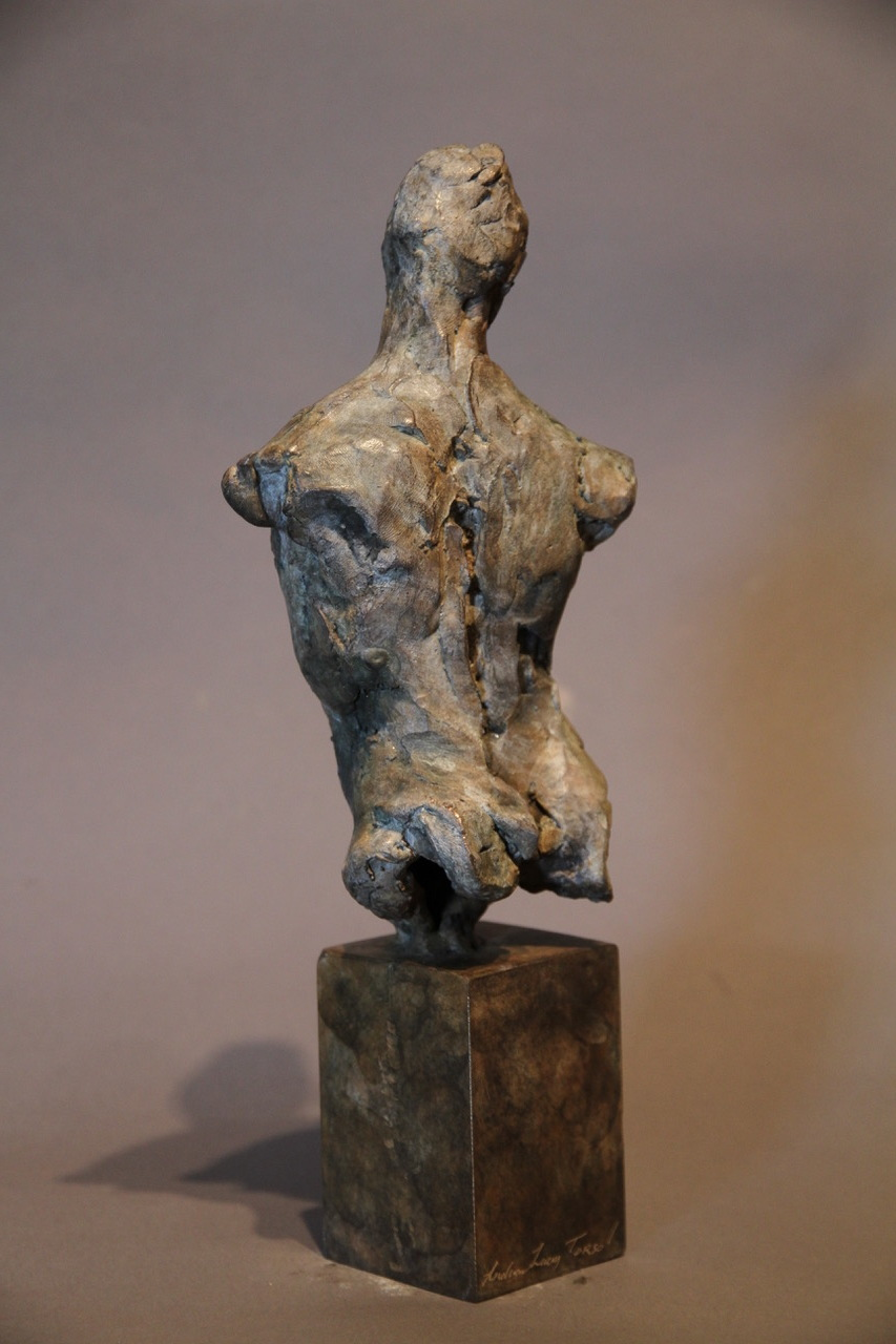 Torso Study , bronze, maquette, edition of 9