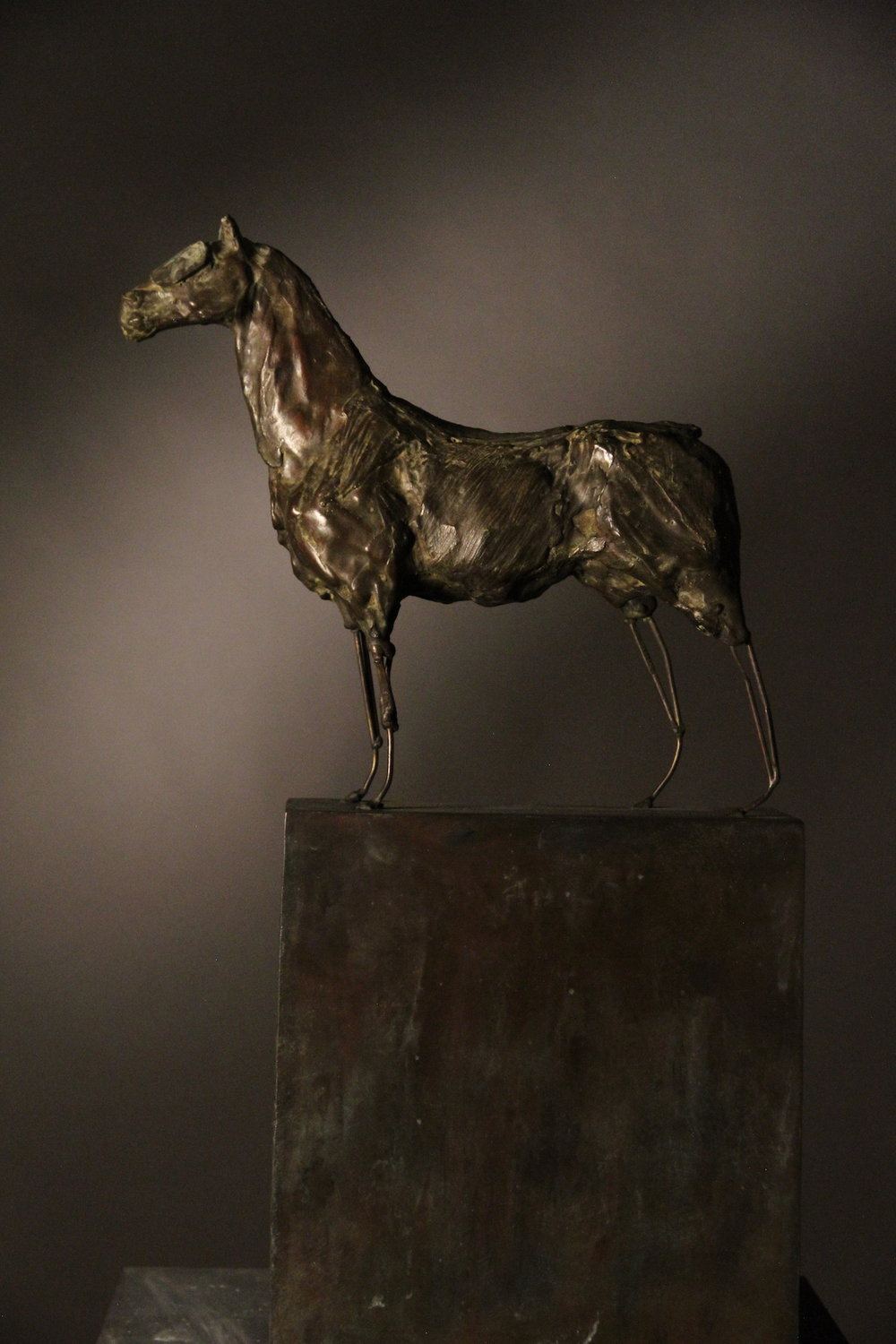 War Horse , bronze, maquette, edition of 9