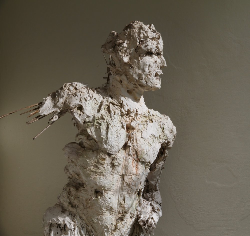 Arcadian , life-size, plaster for bronze