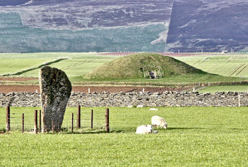Cairn & Wing - initial concept inspired by Maeshowe, Orkney