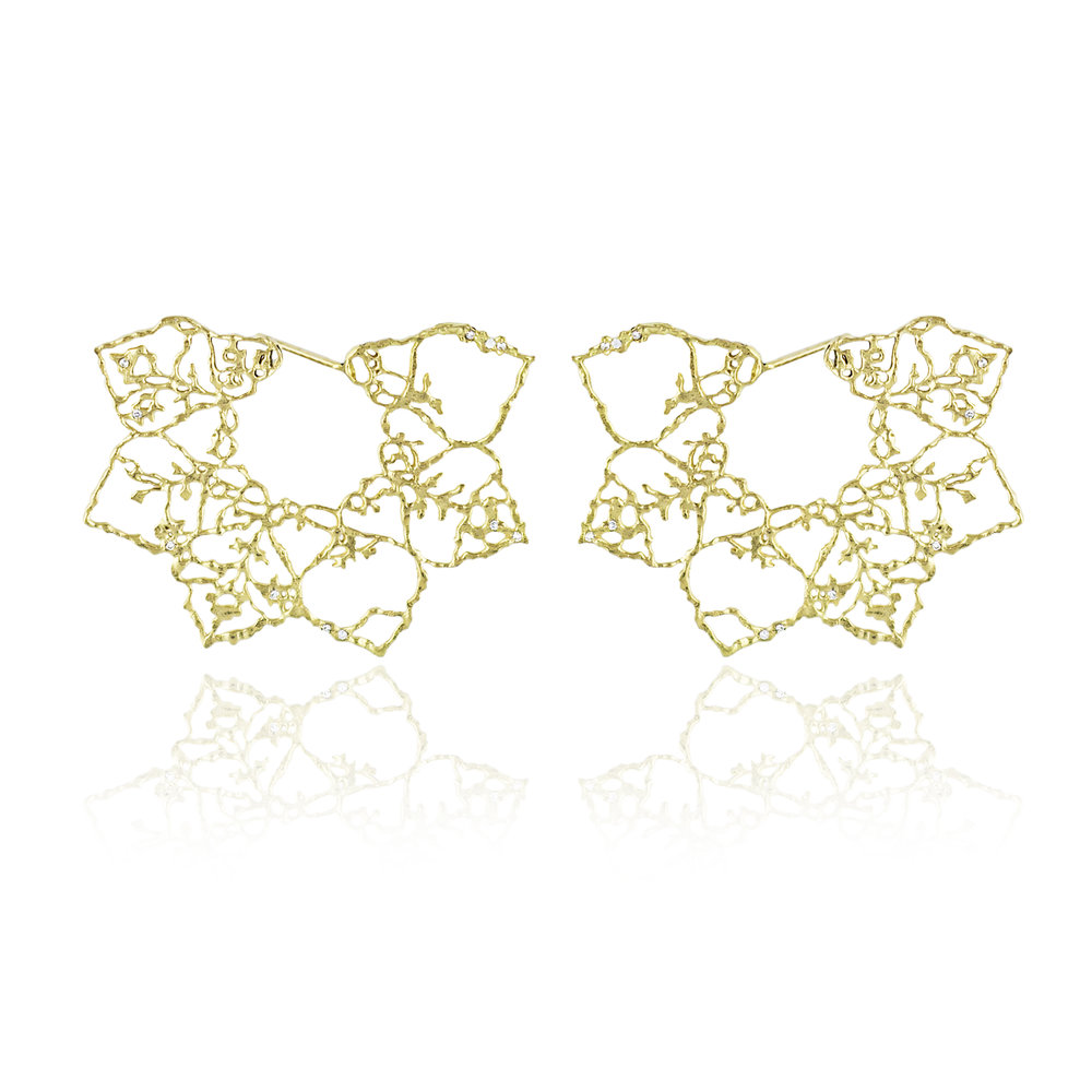 Natalie Ball - Natalie Perry, Floral Fragments, Lace Flower Earrings, £2,950.jpg