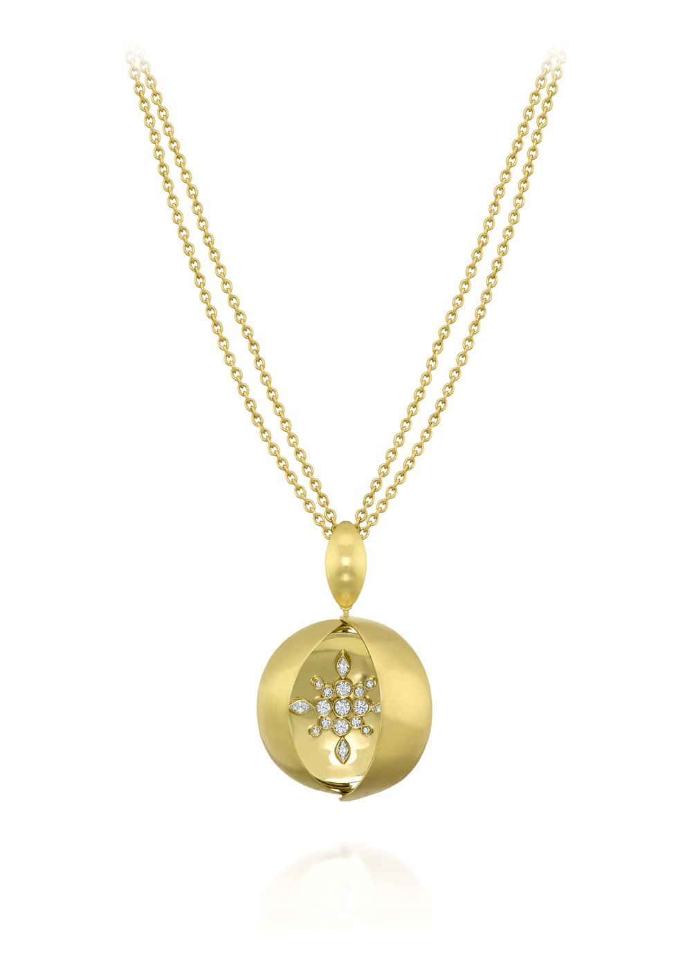 Rose Carvalho - Observatory Star pendant- 18k yellow gold and diamonds..jpg