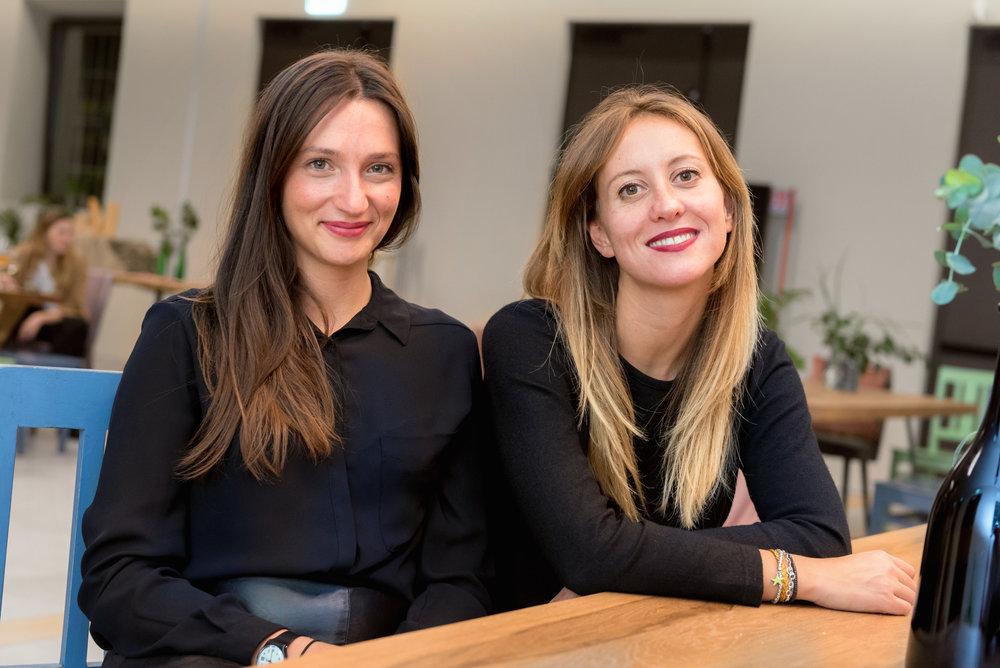 Francesca and Alice - Fashion designers