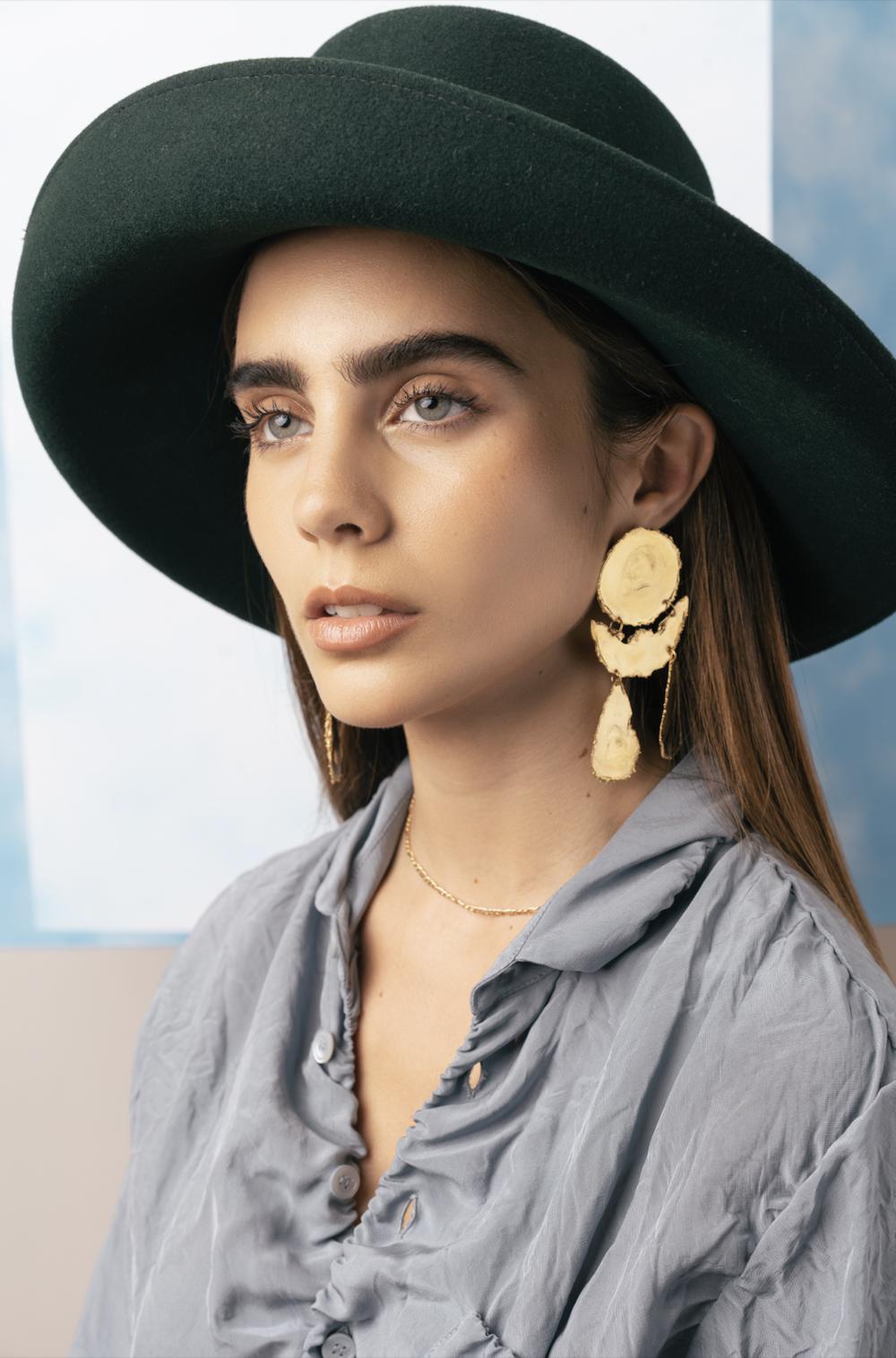 Earrings: LM White Jewelry @lmw_jewelry  Top: Marni @marni