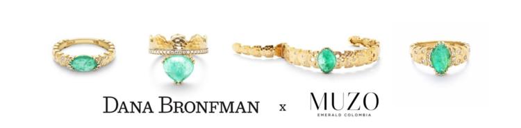 Dana Bronfman x Muzo Emerald Collaboration
