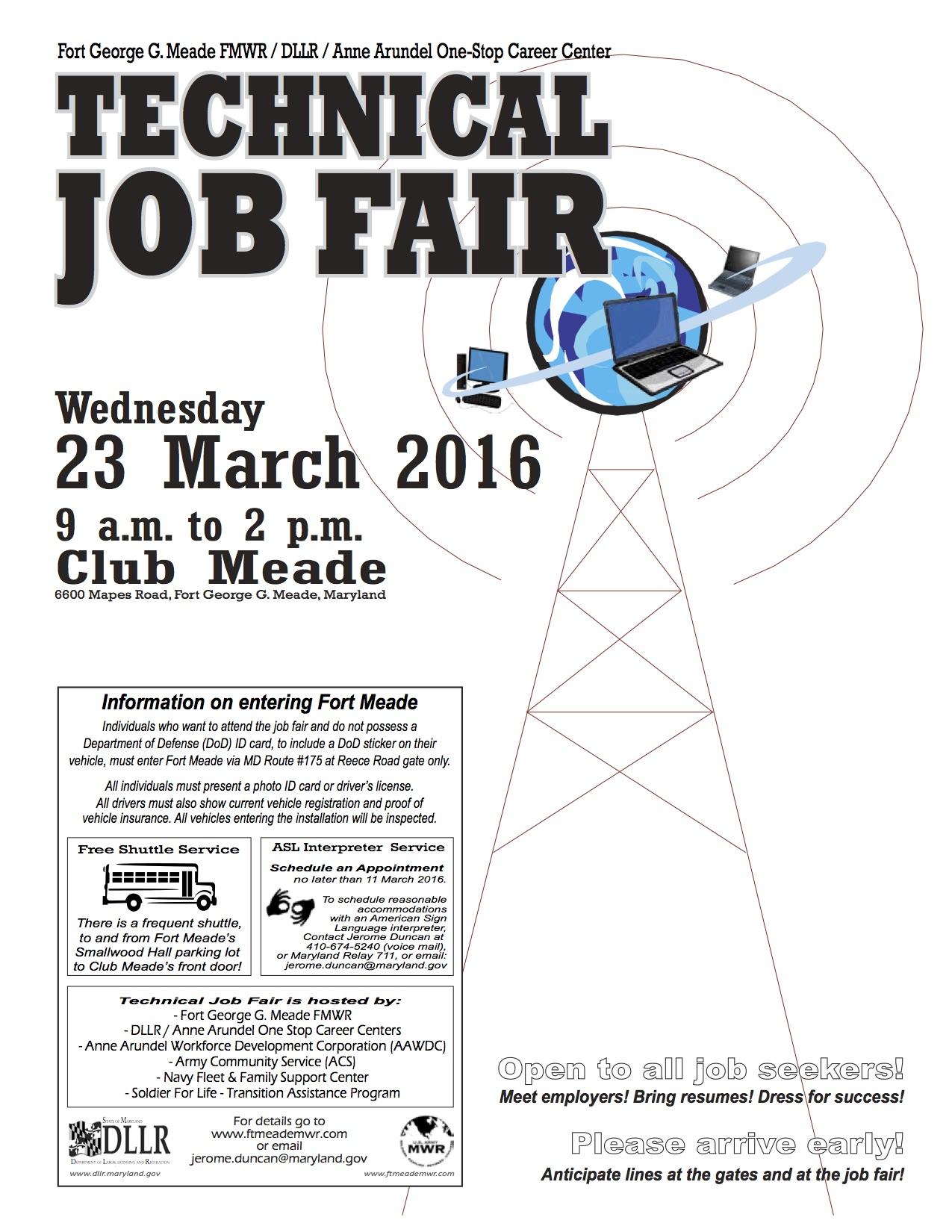 Flier Tech Job Fair 2016