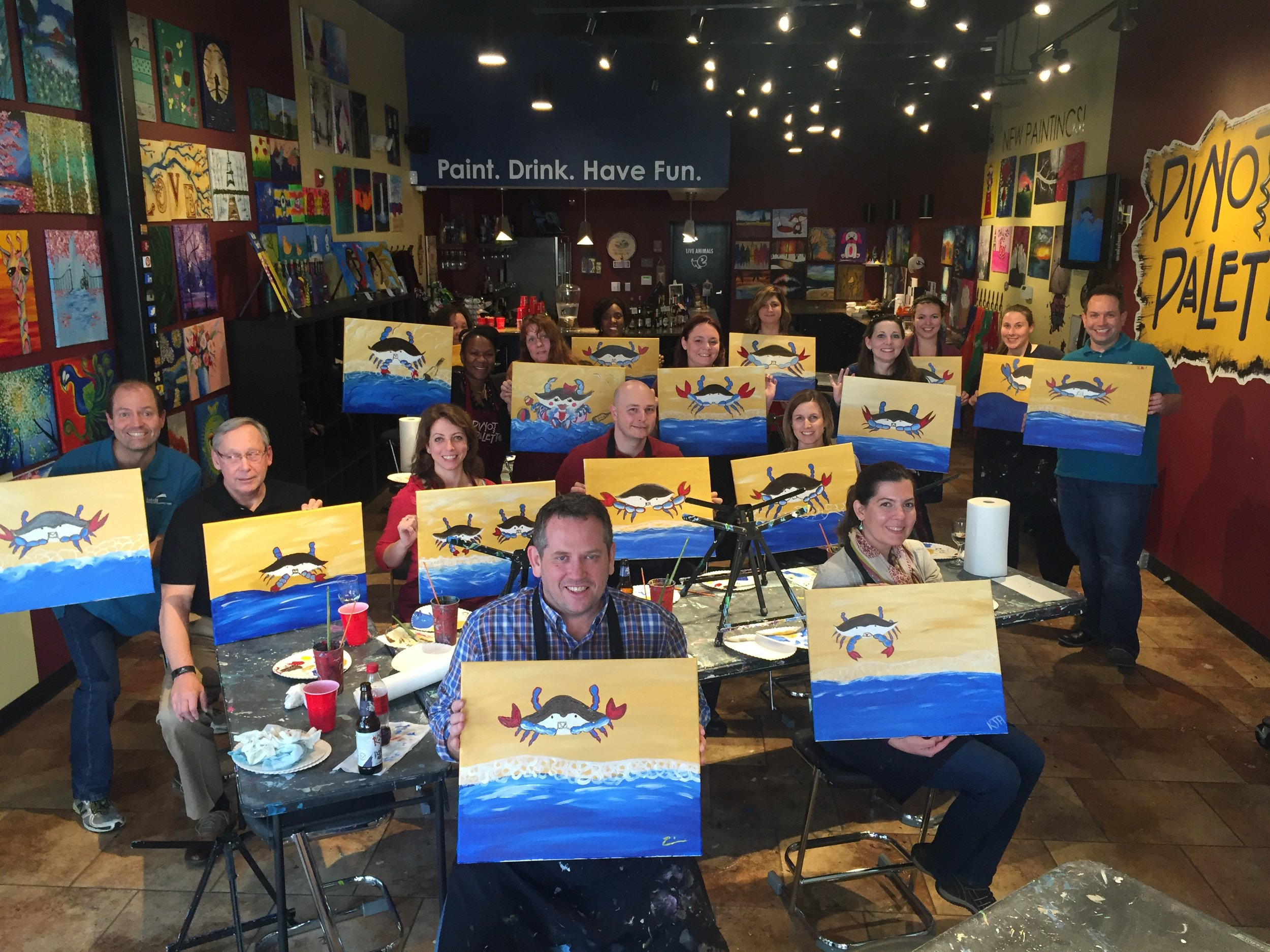 IG Paint Night