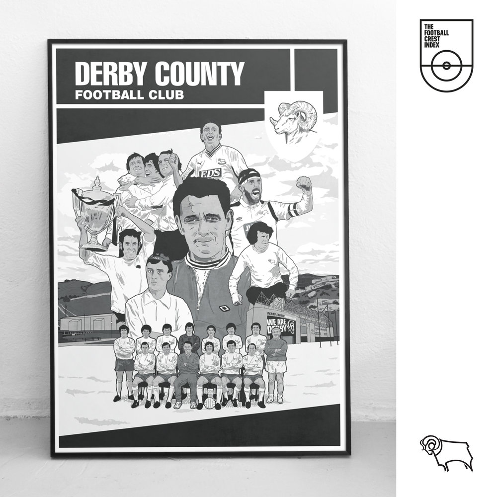 Mark Johnson Representing Derby County F.C.