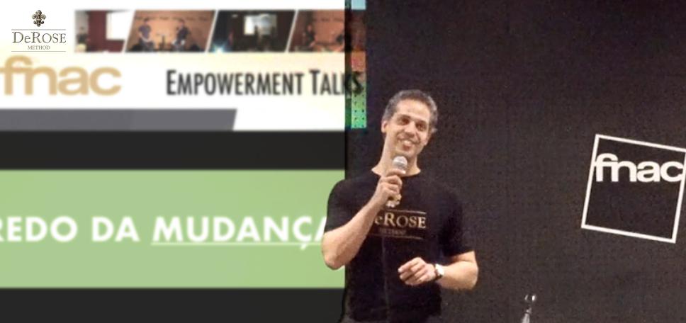 prof. eduardo cirilo numa das suas palestras (fnac - empowerment talks)