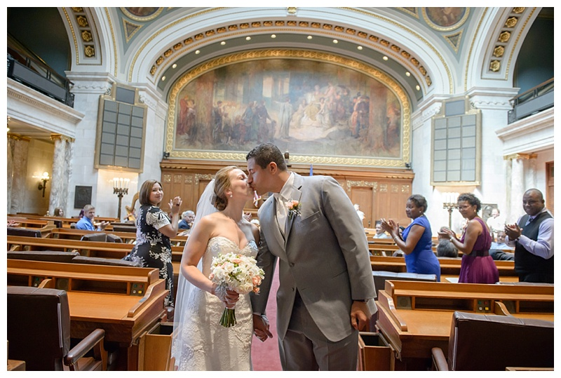 Madison Capitol Assemby chamber wedding,Wausau wedding photographer,Wisconsin wedding photographer,Wisconsinbride,