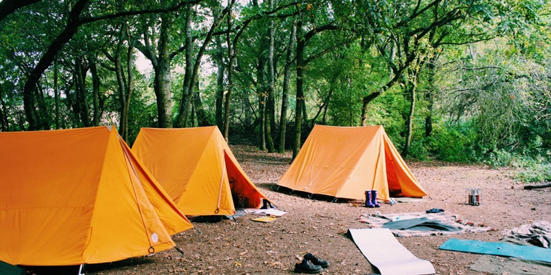 On site camping at Green Farm - Outdoor People are offering on site camping at Green Farm in pre-pitched tents. Head to their website to purchase your accommodation for the night