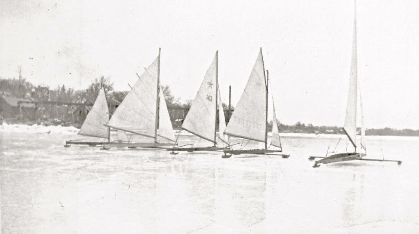 Ice Boating in Rhode Island