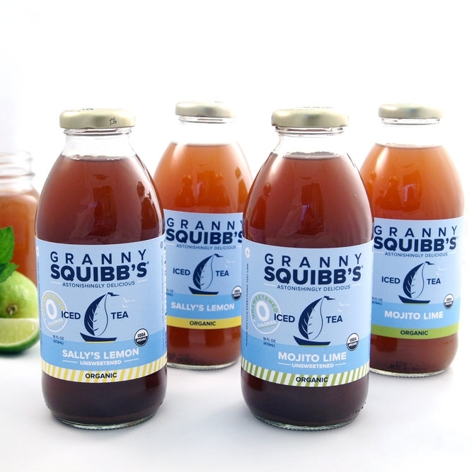 Granny Squibb's Organic Iced Tea featured in Rhode Island Monthly