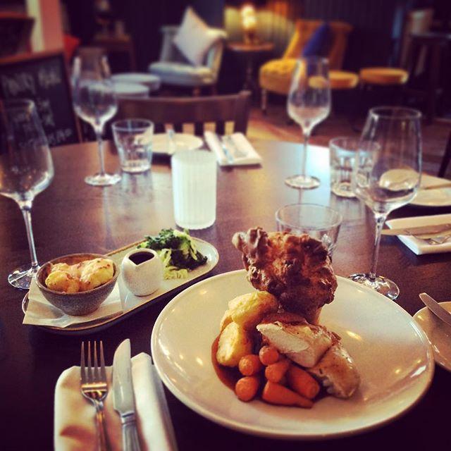 Traditional Roast & Trimmings at The Duke, 12-4.30pm every Sunday #sundayroast #ascot #sunninghill