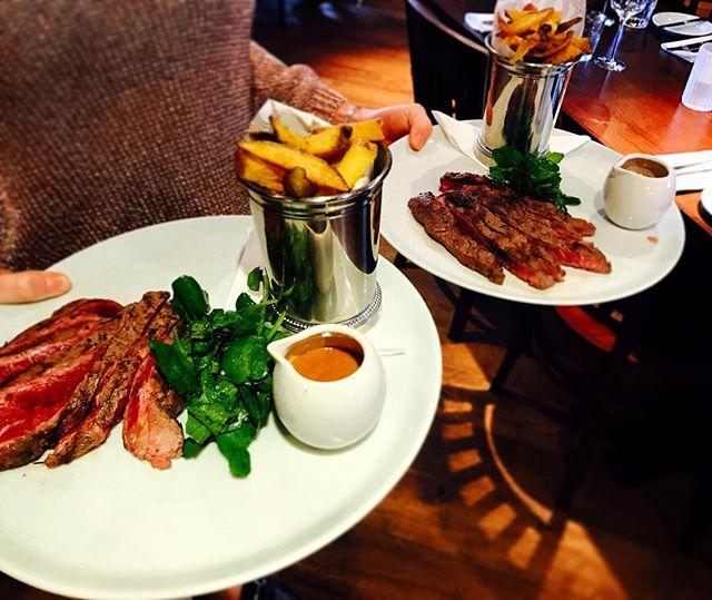Minute steak on this weeks pantry menu! #setmenu #lunchtime #theduke #sunninghill
